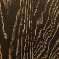 Крашеный шпон дуба с золотой патиной