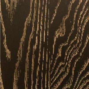 Краска шпона дуба №24 Черная с золотой патиной