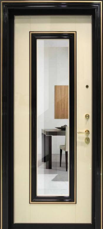 Дверная панель Гардиан Астория 02 с зеркалом