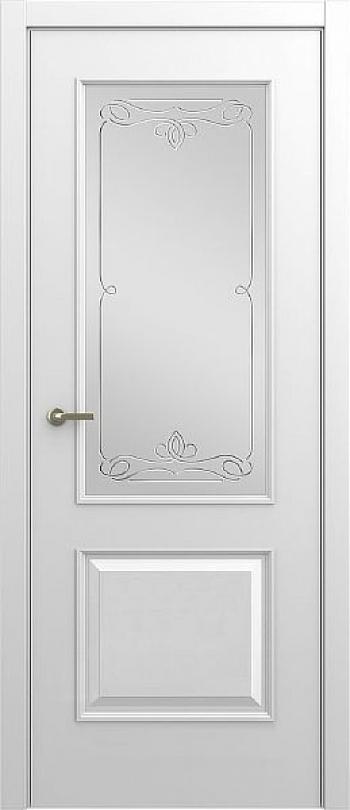 Межкомнатная дверь Малетти М1 ДО с алмазной гравировкой