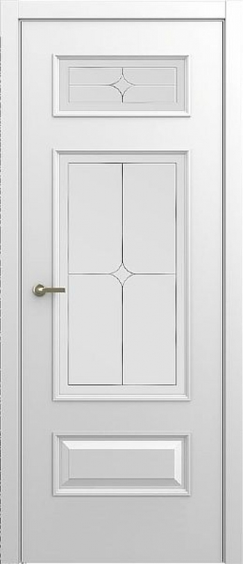 Межкомнатная дверь Малетти М2 ДО с алмазной гравировкой