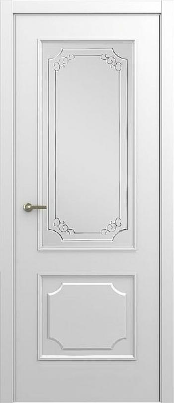 Межкомнатная дверь Малетти М3 ДО с алмазной гравировкой
