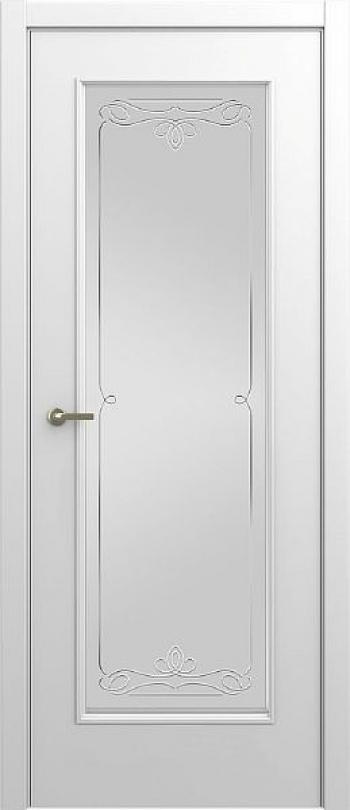 Межкомнатная дверь Малетти М6 ДО с алмазной гравировкой