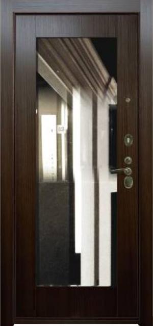 Дверная панель с зеркалом Нарцисс 05