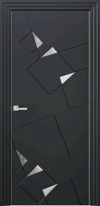 Межкомнатные двери Perfect P Steel 1