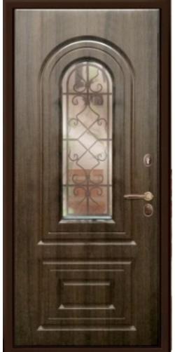 Входные двери Гардиан Самарканд с окном и ковкой Входные двери Гардиан Самарканд с окном и ковкой