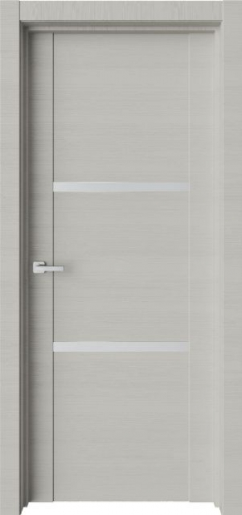 Межкомнатная дверь с молдингом Trend T19
