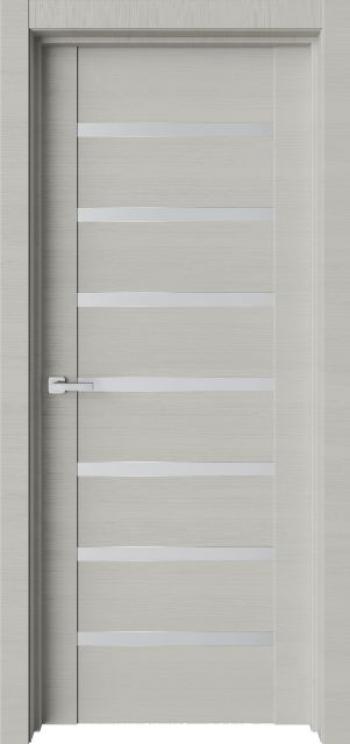 Межкомнатная дверь с молдингом Trend T21