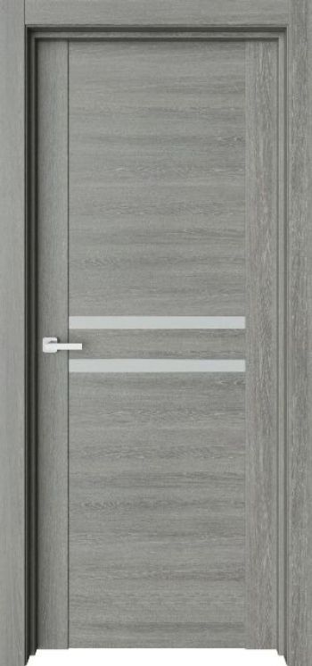 Межкомнатная дверь с молдингом Trend T22