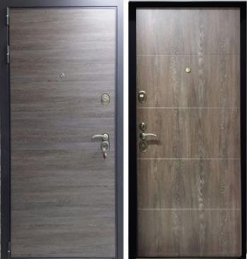 Входная дверь Техно 18 с 2 панелями
