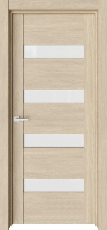 Межкомнатная дверь Verso V19 со стеклом триплекс