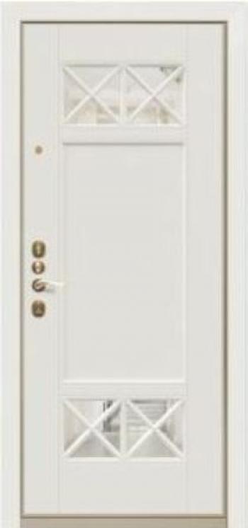 Дверная МДФ панель Вента 04 зеркало