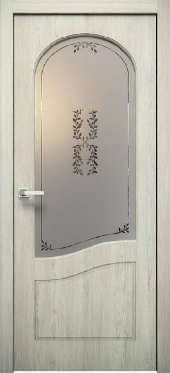 Межкомнатная дверь Анастасия ДО остекленная