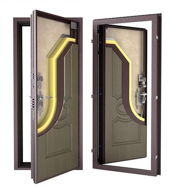 Гардиан ДС10 (уличная дверь с терморазрывом)