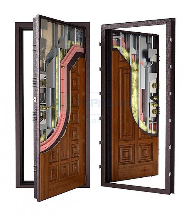Банковская входная дверь Гардиан ДС4