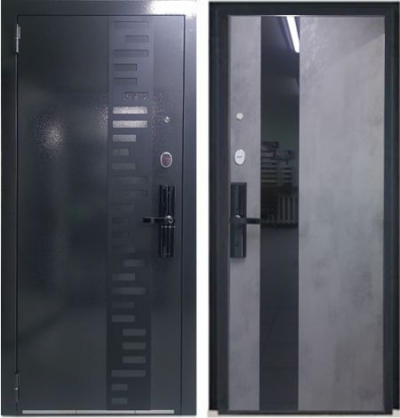 Входная дверь с биометрией