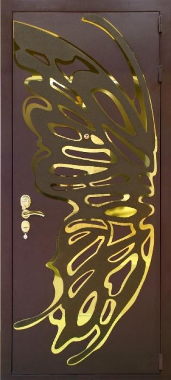 Металлические двери № 175