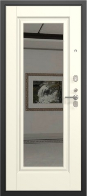 Входная дверь с зеркалом Нарцисс 09