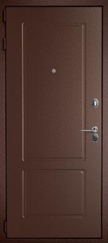 Отделка входных дверей № 181 давление