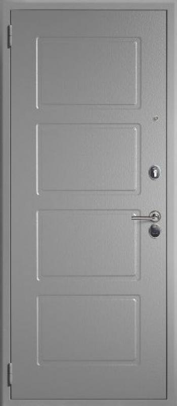 Отделка металлических дверей № 182