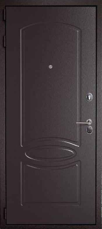 Отделка металлической двери №184