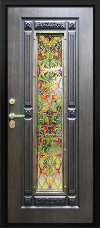 Входная дверь Византия внутри