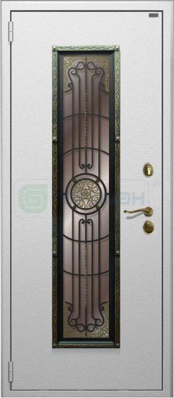 Входные двери с ковкой №150