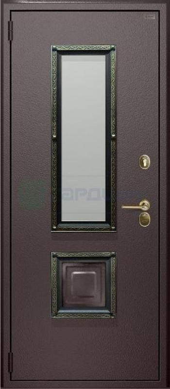 Двери Гардиан со стеклопакетом
