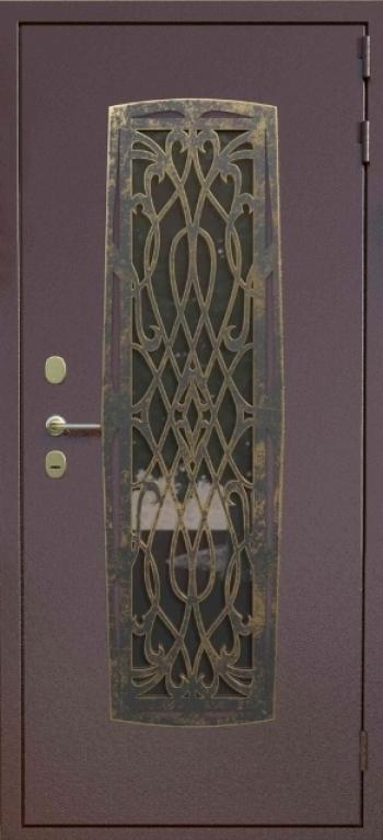 Наружная отделка входной двери 166