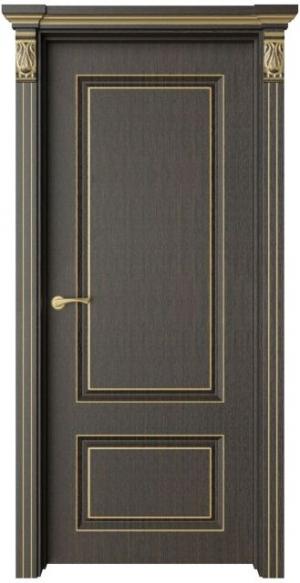 Дверь Эвиза 1 патина золото