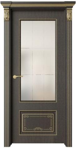 Дверь Эвиза 2 Деко патина золото