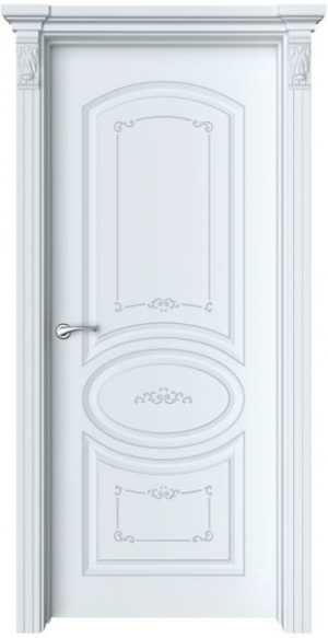 Дверь Эври 1 Ажур патина шампань