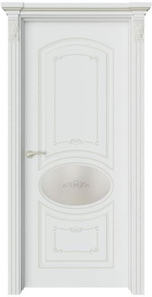 Дверь Эври 2 Ажур патина шампань