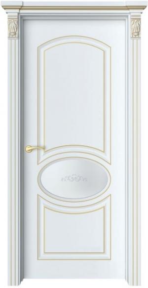 Дверь Эври 2 патина золото