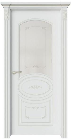 Дверь Эври 3 Ажур патина шампань