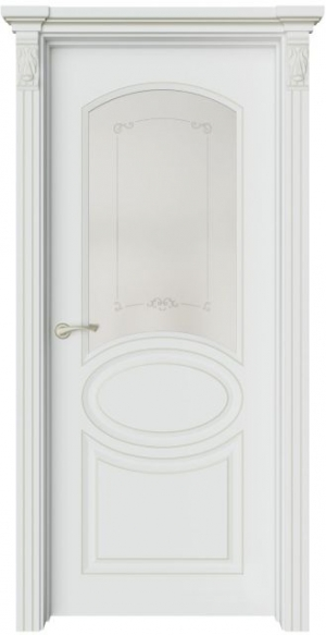 Дверь Эври 3 патина шампань