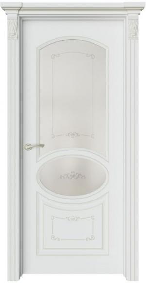 Дверь Эври 4 Ажур патина шампань