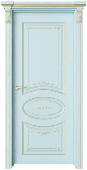 Дверь Флоранж 1 Деко патина золото