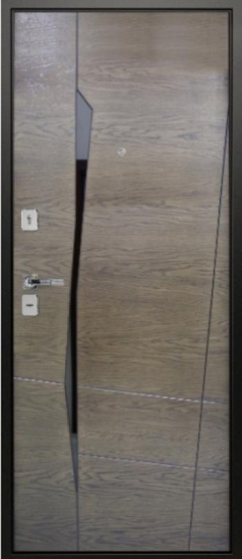 Шпонированная дверная панель Призма 01
