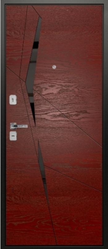 Шпонированная дверная панель Призма 02