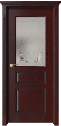 Межкомнатная дверь Кардинал с черной патиной