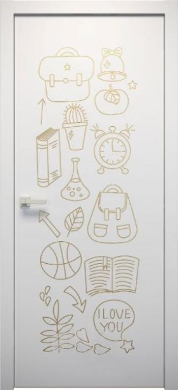 Межкомнатная дверь L-Kids 4 в детскую