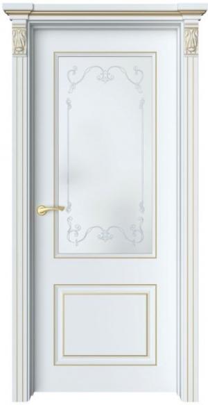 Дверь Лоран 2 патина золото
