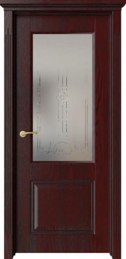 Межкомнатная дверь М3Р с черной патиной