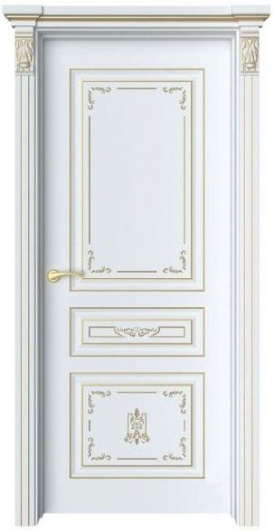 Дверь Мартен 1 Ажур патина золото
