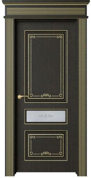 Дверь Мирбо 2 Деко патина золото