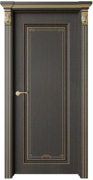Дверь Монторо 1 Деко патина золото