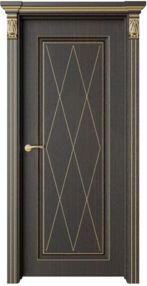 Дверь Монторо 1 Ромб патина золото