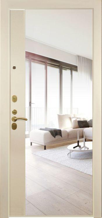 Дверная панель с зеркалом Нарцисс 01