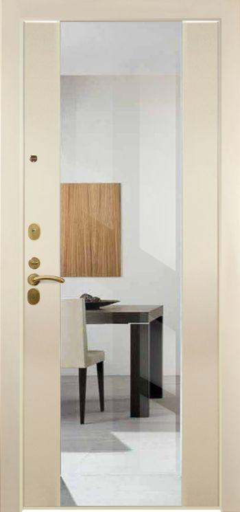 Входные двери с зеркалом Нарцисс 03